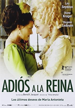 películas de viaje Les adieux à la Reine