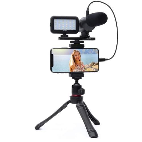 Movo Smartphone Vlogging accesorios esenciales para viajes