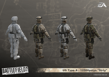US outfitting from Lead Character Artist, Mike Man