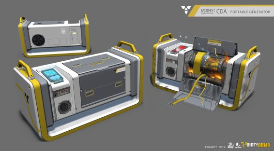 Andrew Porter - Equipment and Assets