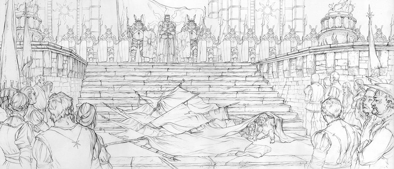 Witcher 3 Concept Art - Marcin Karolewski
