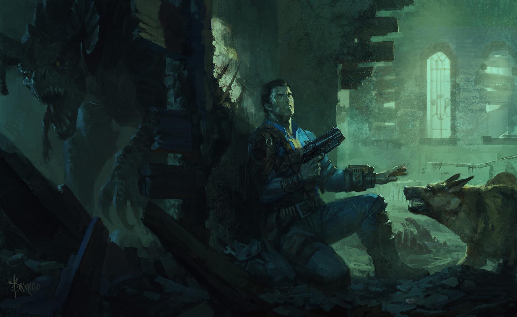 Bayard Wu - Fallout 4 Fan Art
