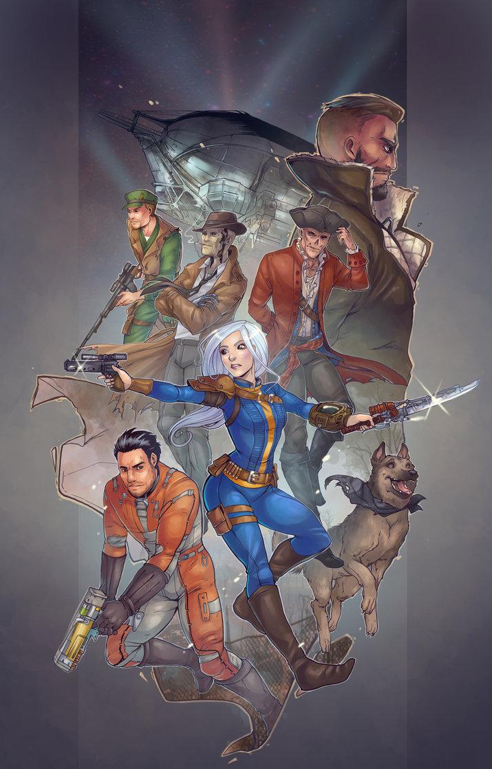 Fallout 4 Fan Art 71 Escape The Level