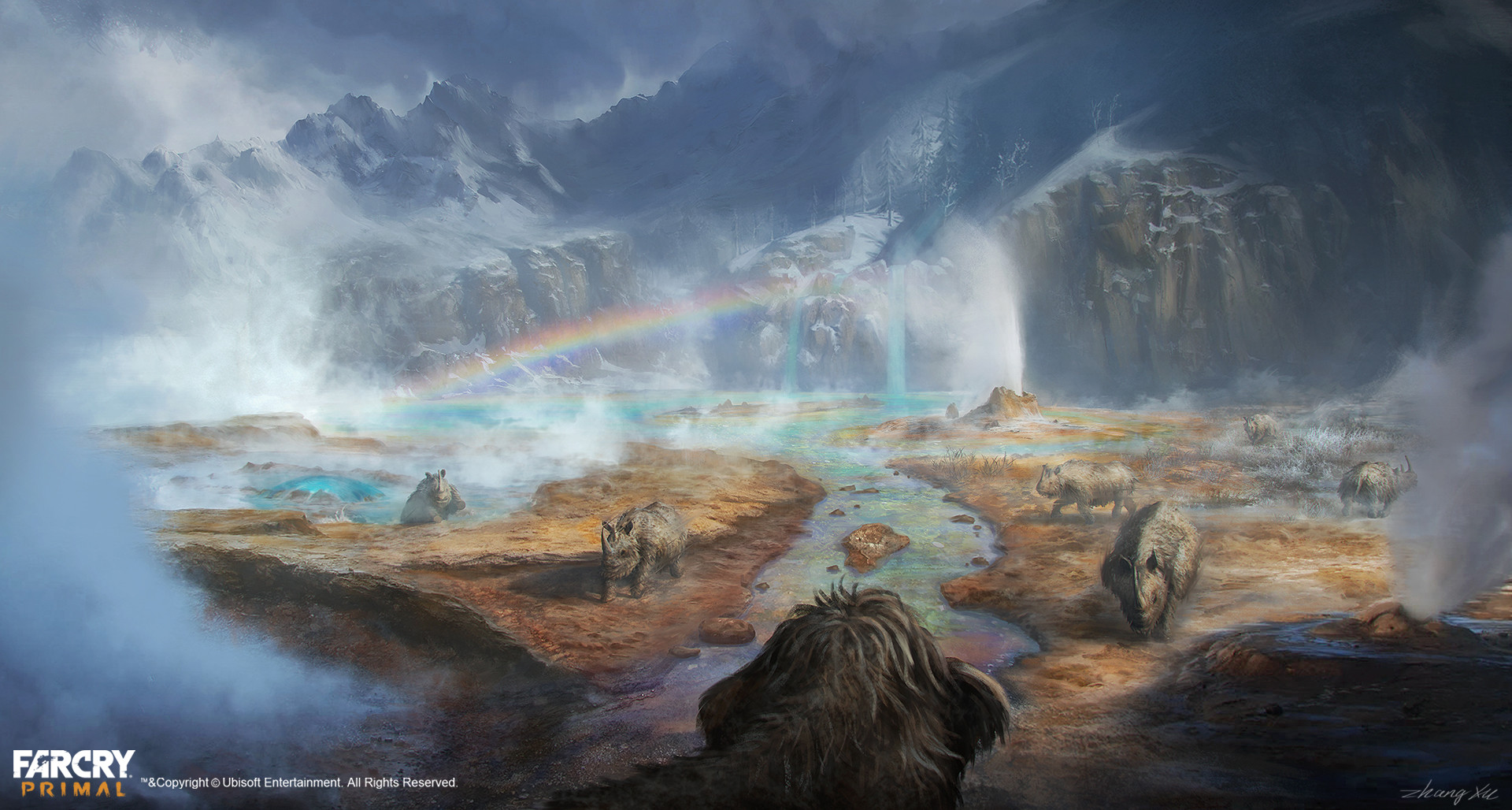 Far Cry Primal Concept Art By Xu Zhang 73 Escape The