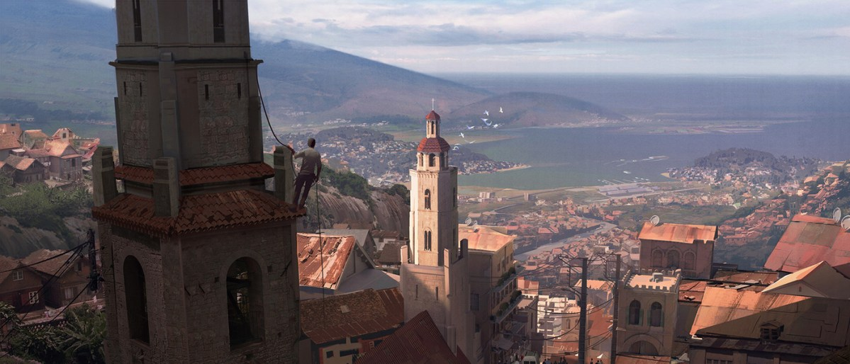 Uncharted 4 Concept Art by Nick Gindraux | #89