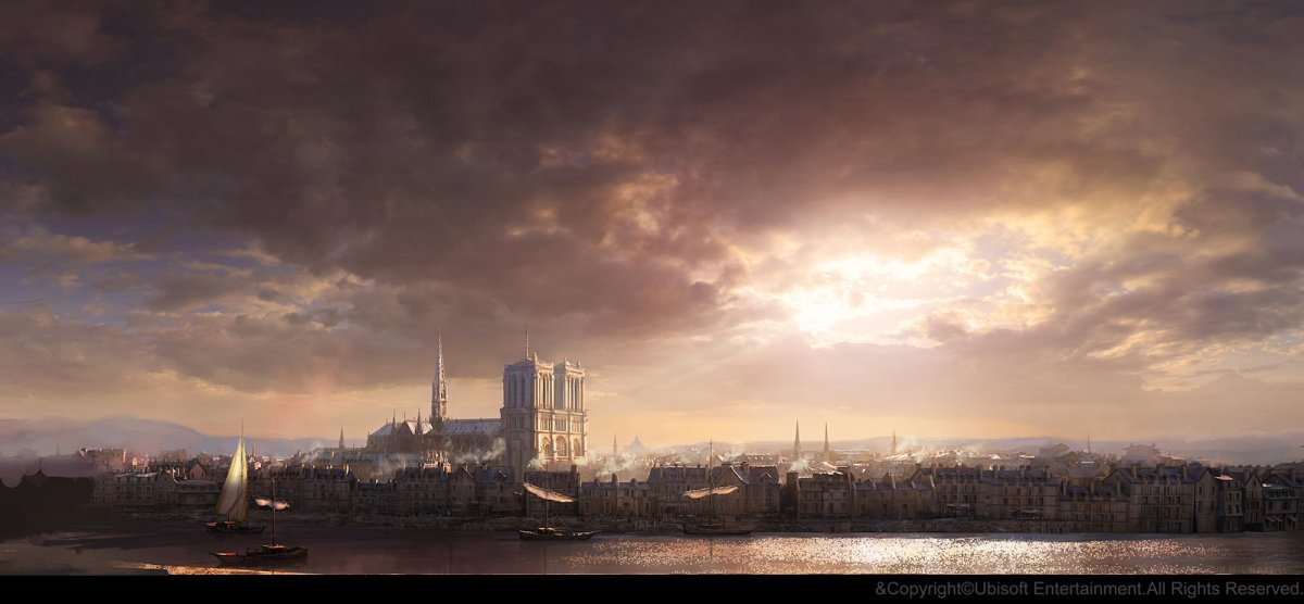 Gilles Beloeil - Assassin's Creed Concept Art