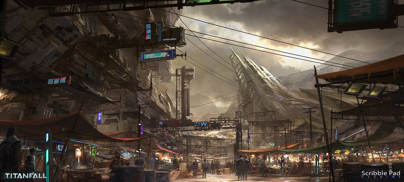 James Paick - Titanfall Concept Art