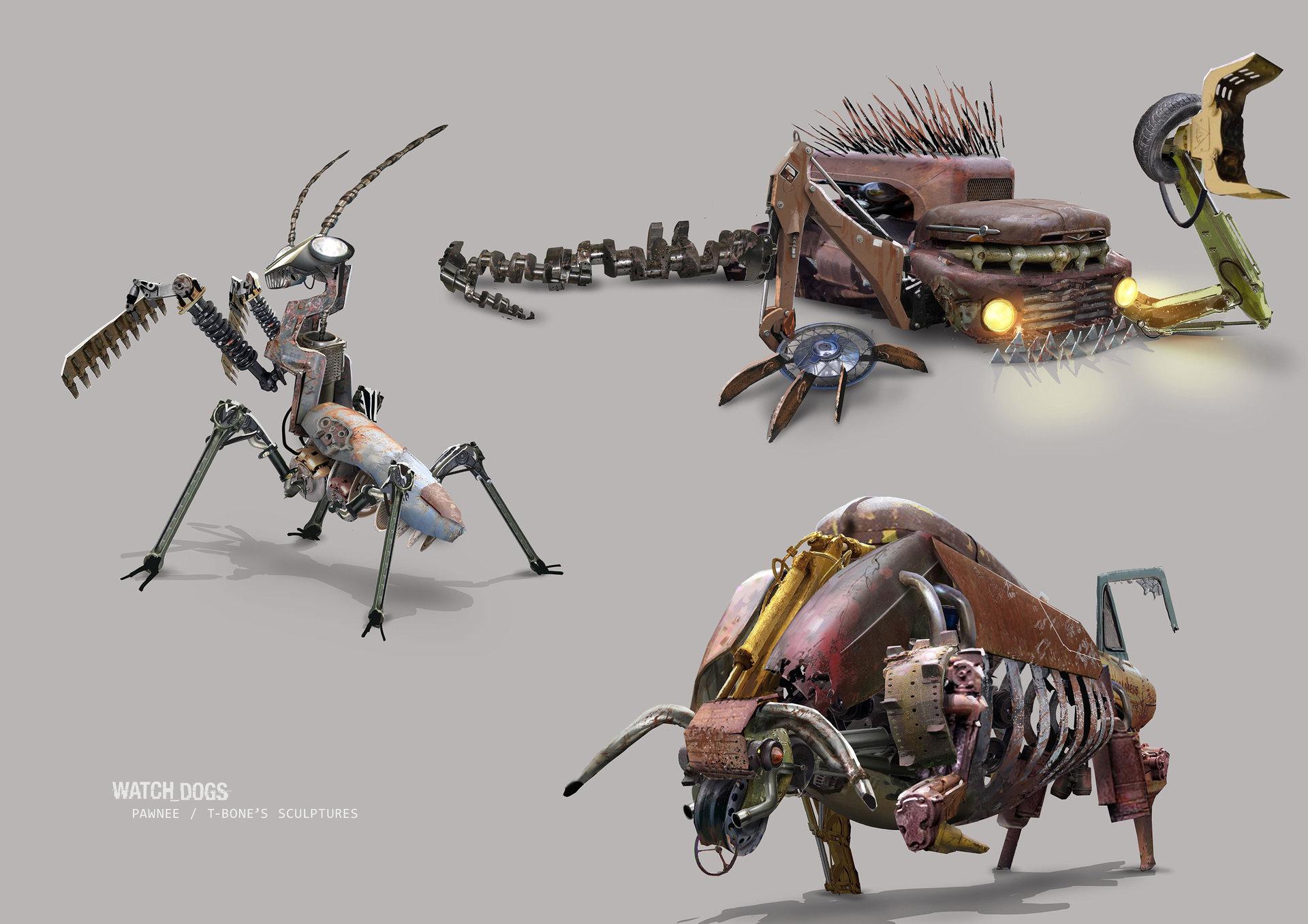 WatchDogs Concept Art