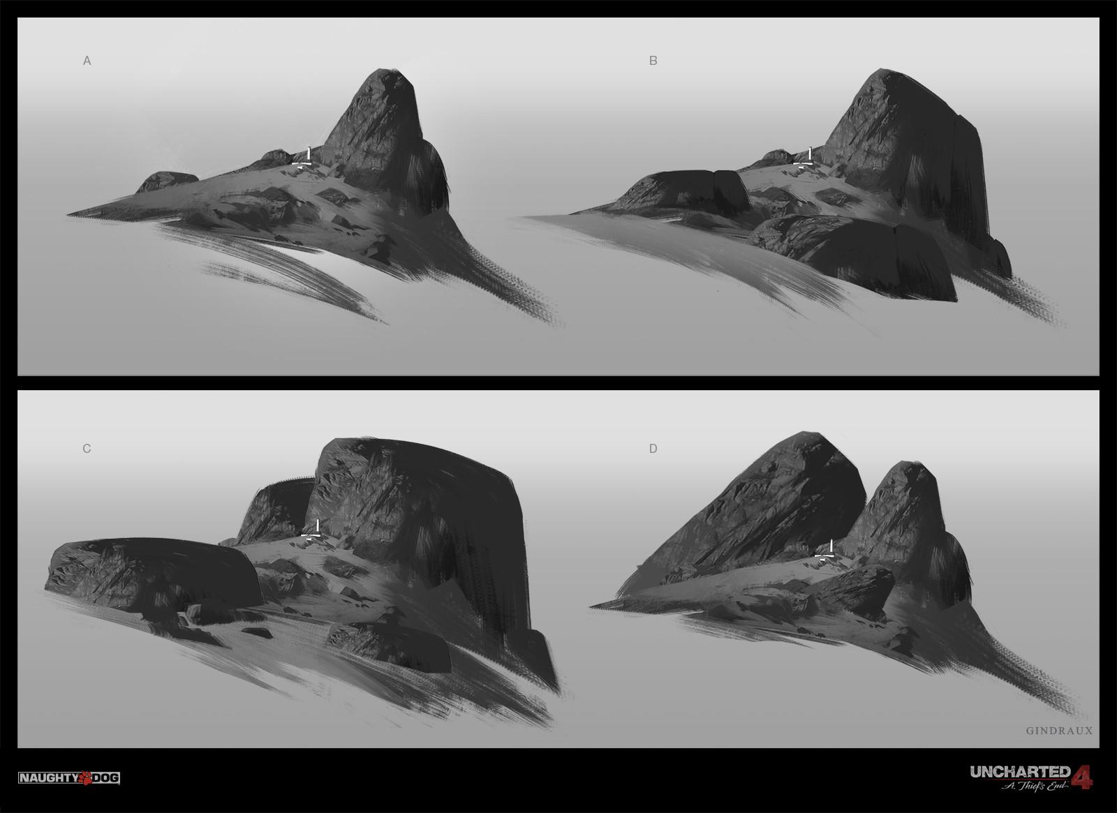 Uncharted Concept Art