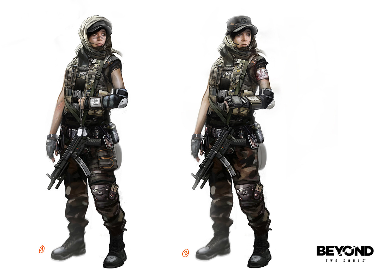 Beyond Two Souls Concept Art