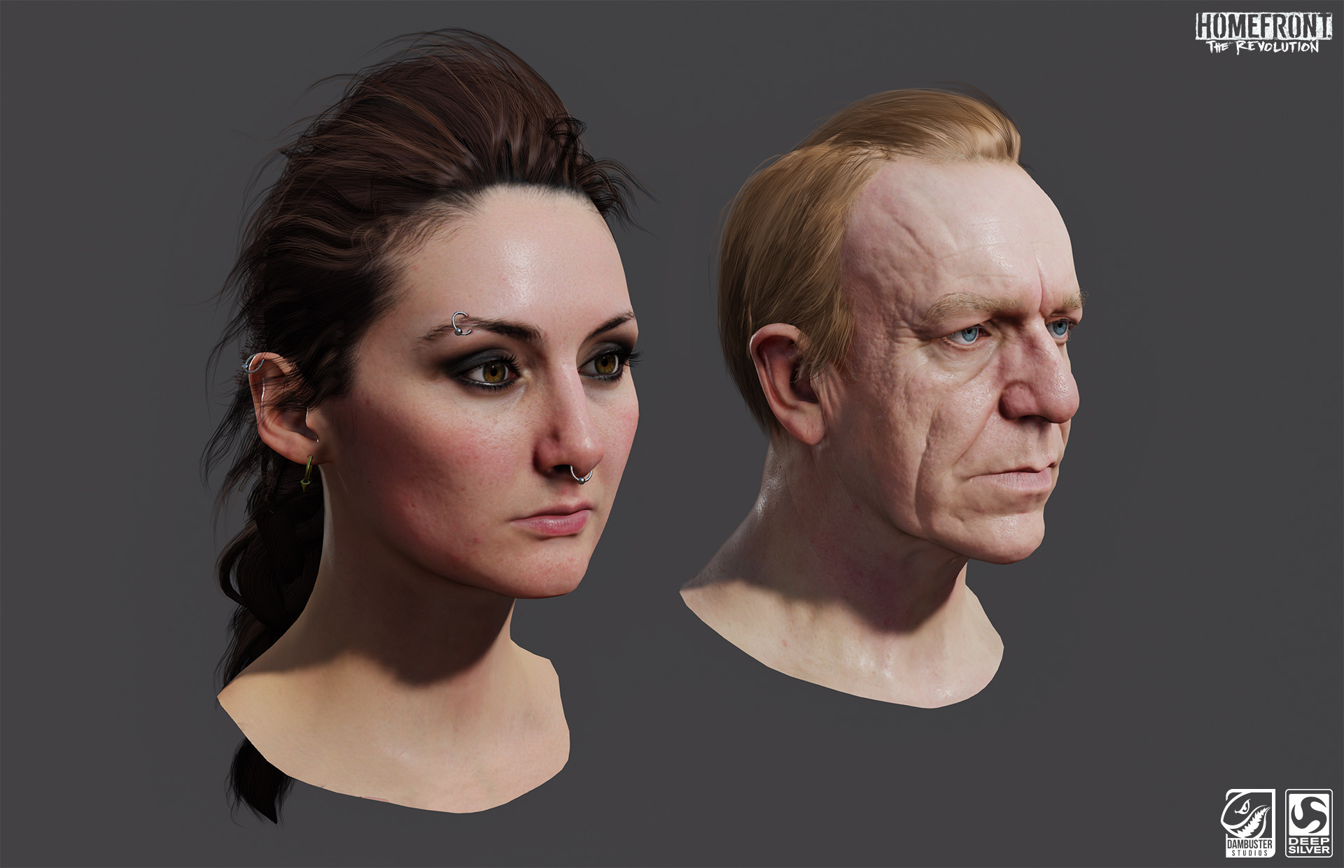Richard Smith - Character Art