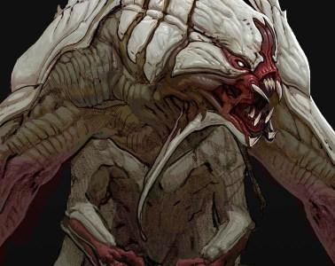 Evolve Creature Concept Art