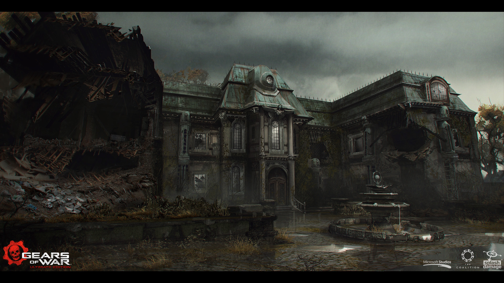 Gears of War - Concept Art - Adam Baines