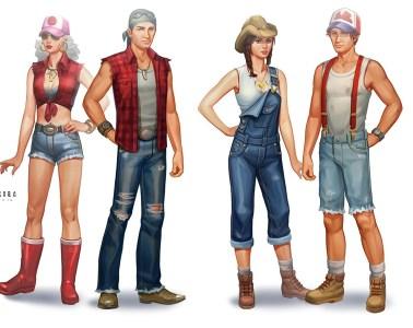 Sims 4 Concept Art