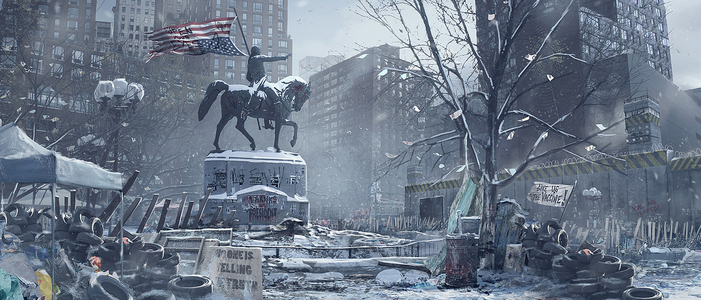 The Division Concept Art By Florian De Gesincourt 132