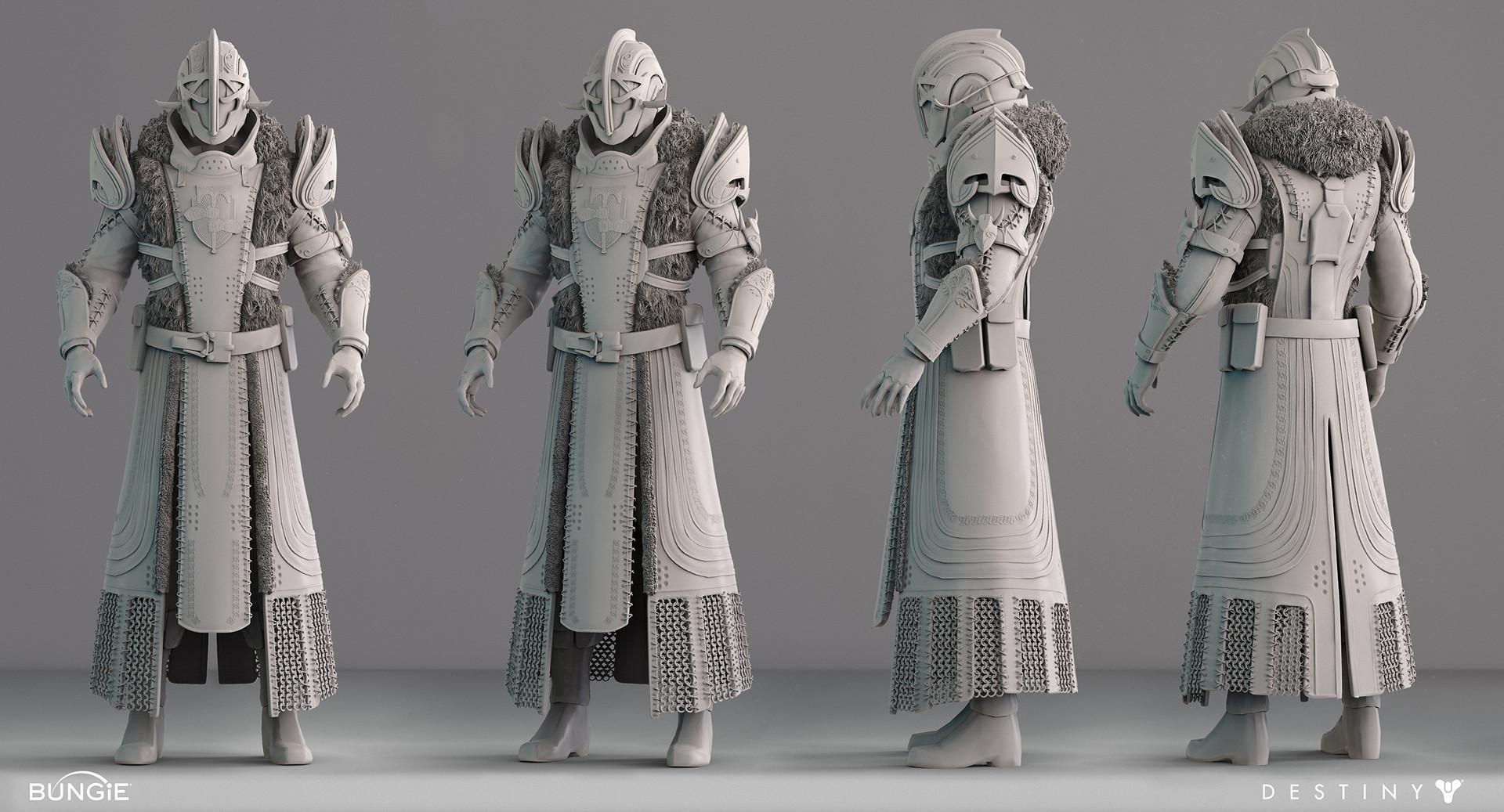 Allan Lee, Destiny Character Art