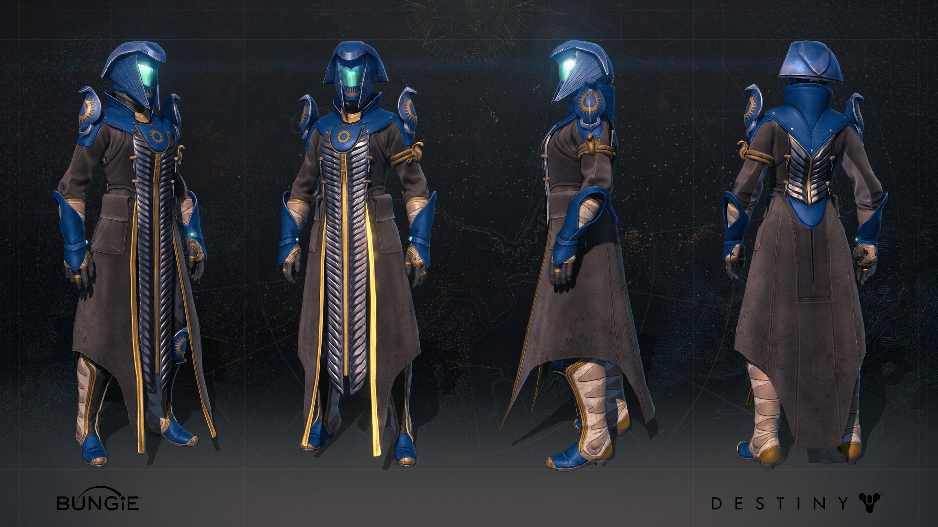 Rise of Iron Character Art
