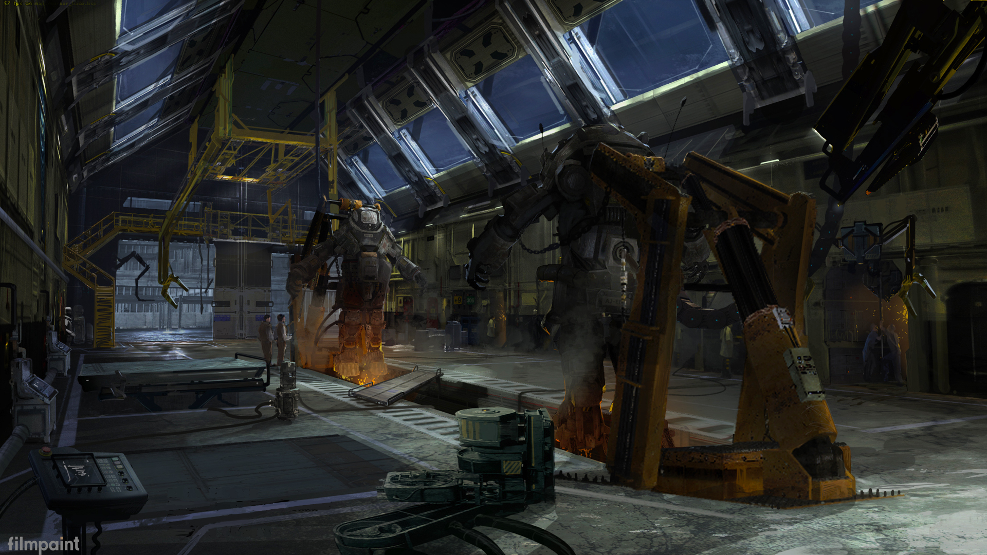 Titanfall Concept Art By Bruno Werneck 144 Escape The