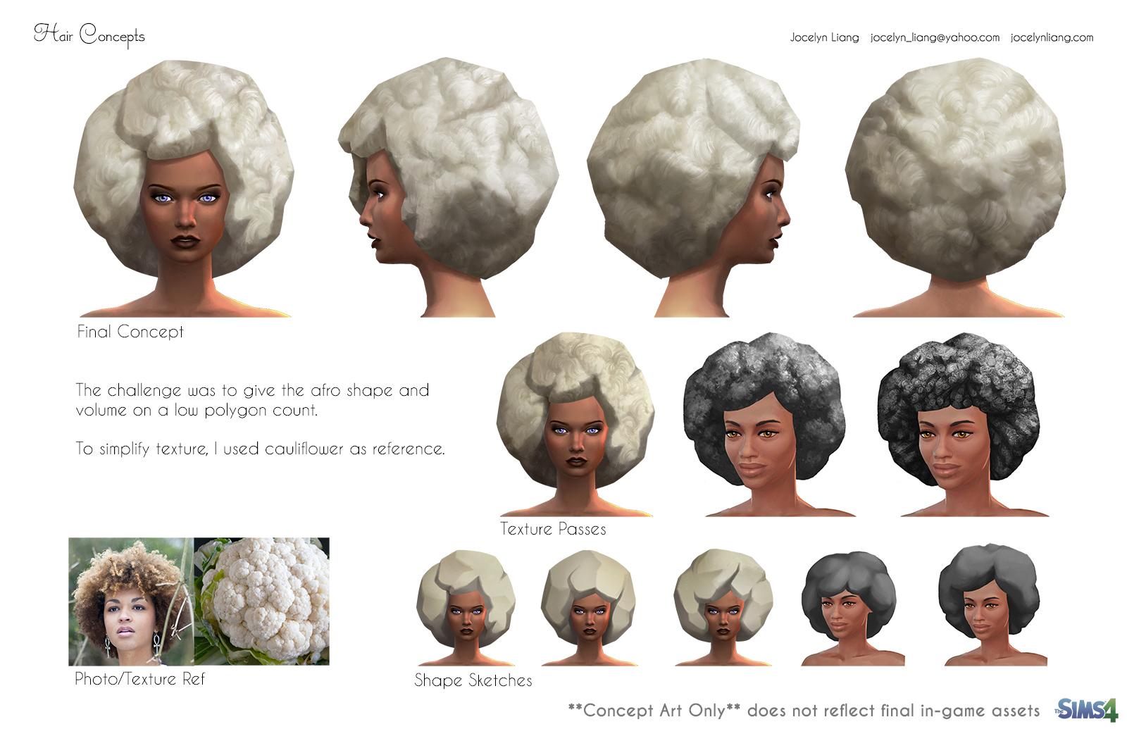 Sims 4 Game Art by Jocelyn Liang