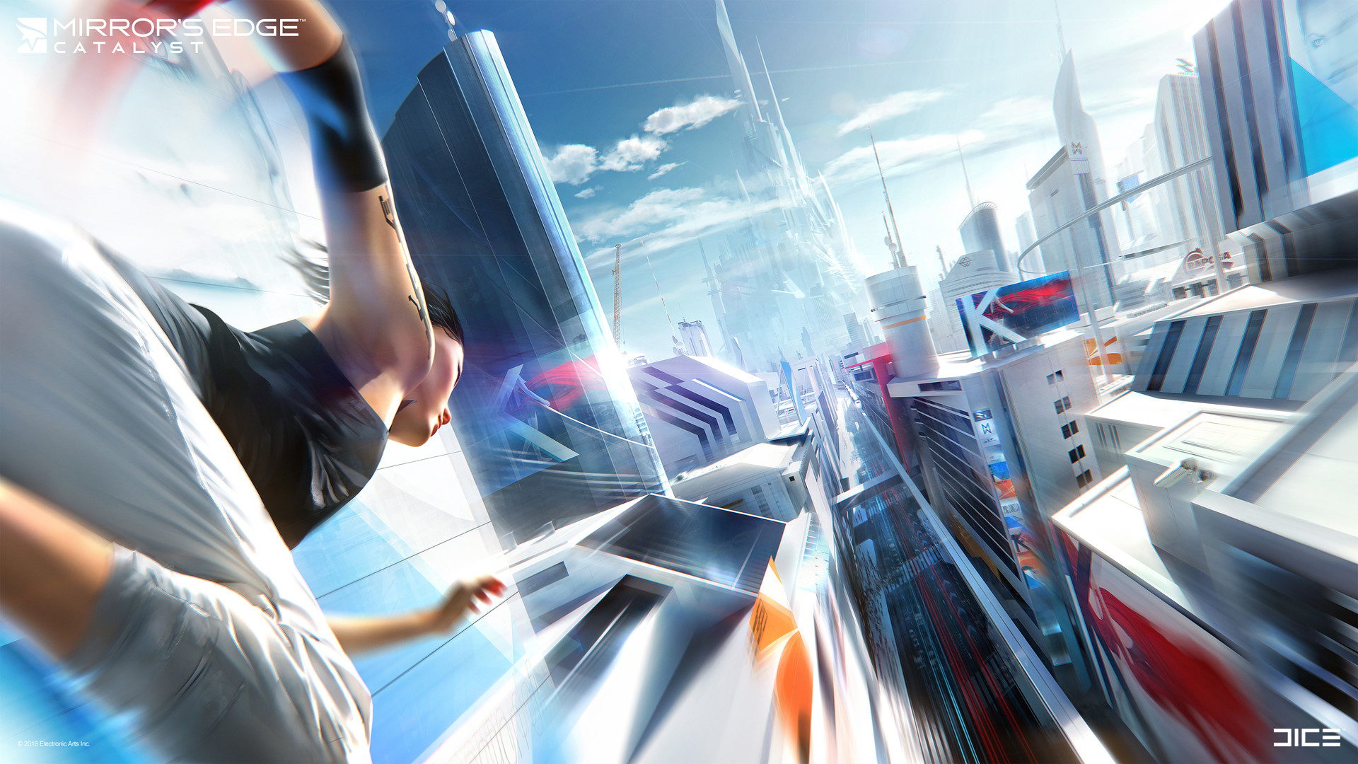 Mirror's Edge Catalyst Concept Art