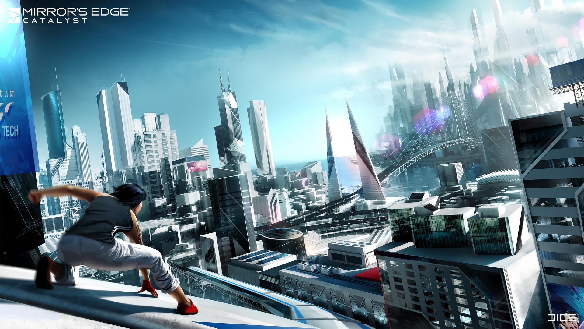 Art of Mirror's Edge Catalyst