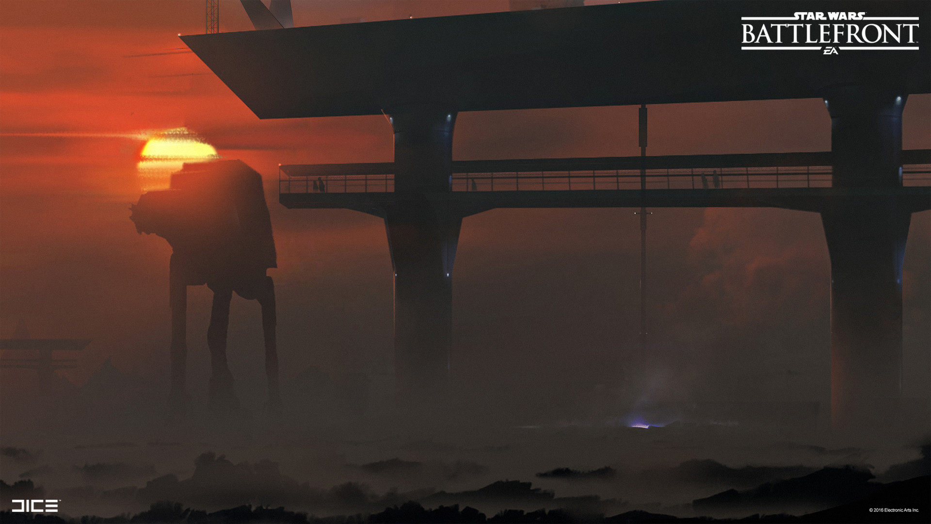 Star Wars Battlefront Concept Art