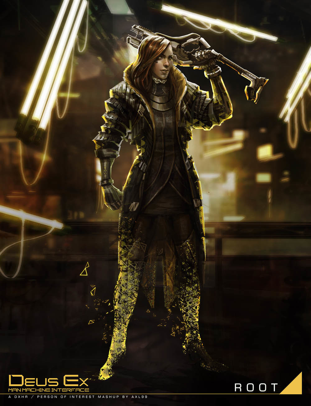 Jessie Lam Deus Ex Fan Art