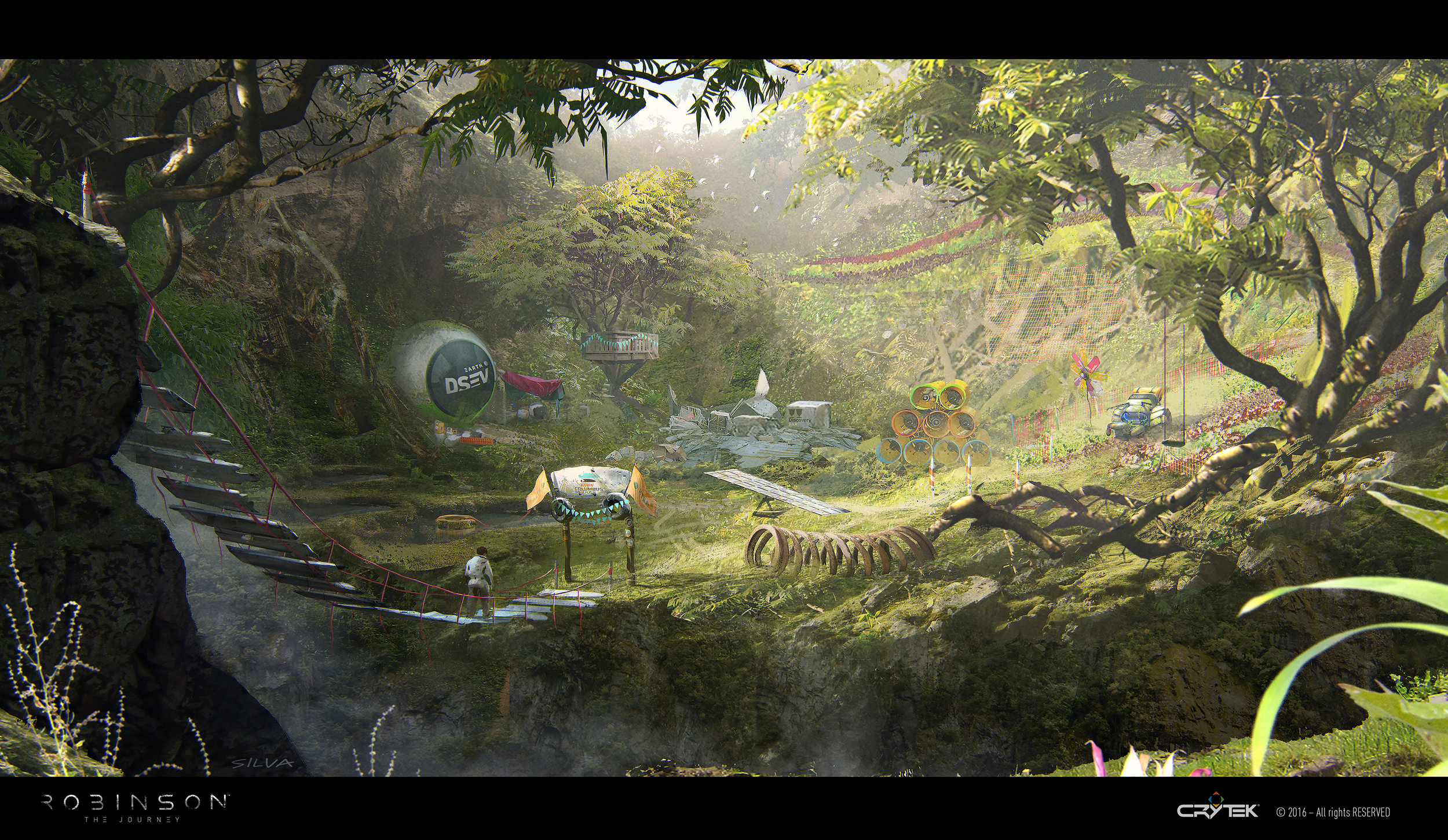 Robinson: The Journey Concept Art by Joao Silva