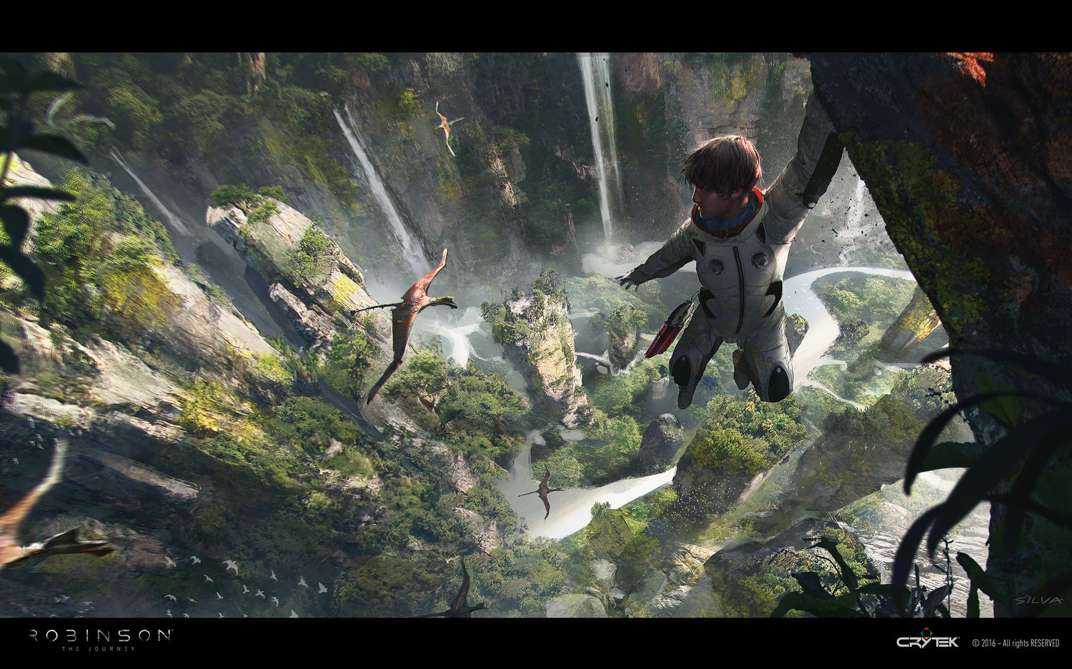 Joao Silva Concept Art - Robinson: The Journey