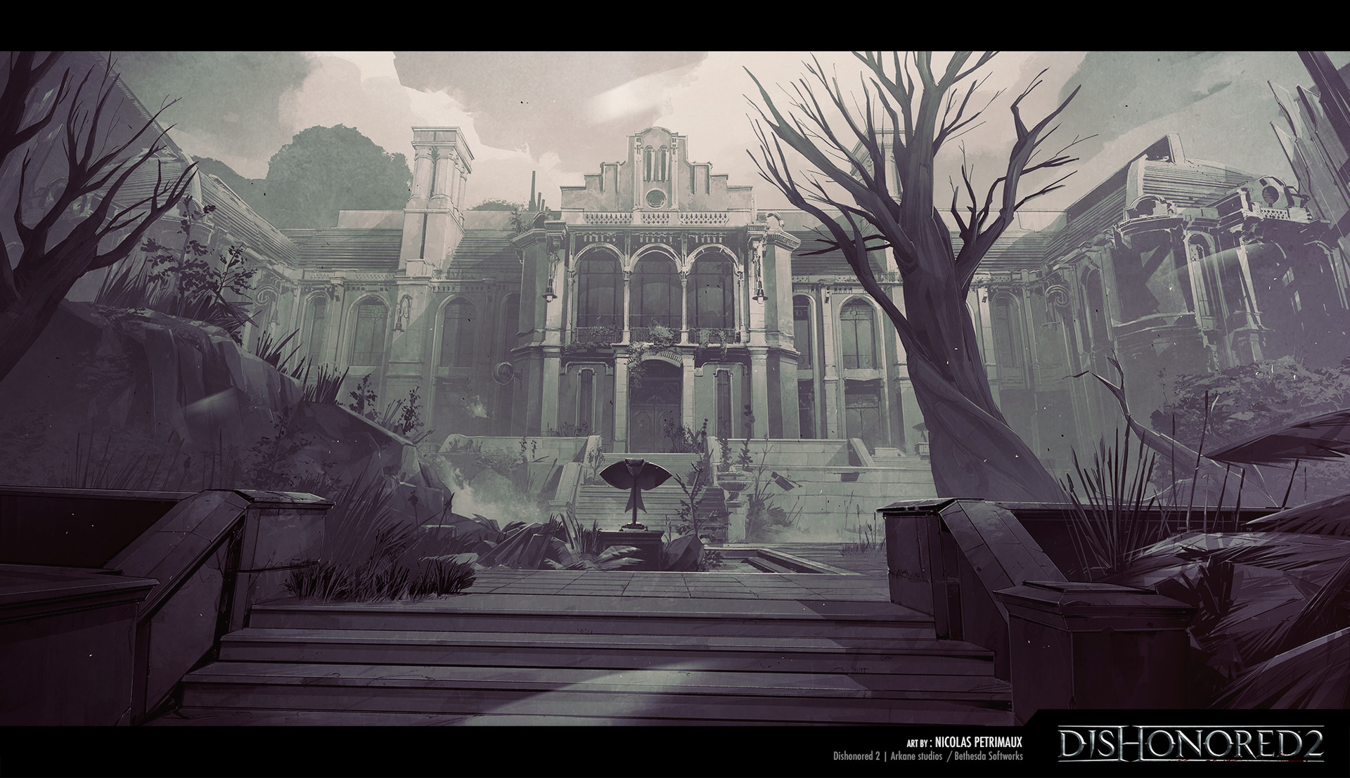 Dishonored 2 Art by Nicolas Petrimaux