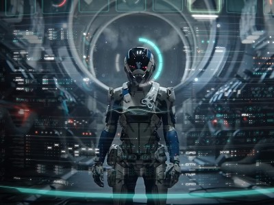 Mass Effect Andromeda UI Art by Eric Bellefeuille