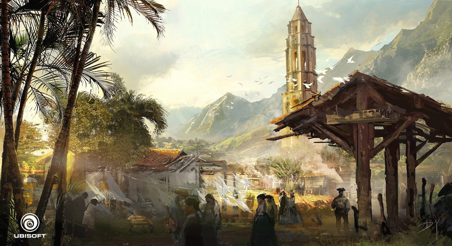 Assassins Creed Concept Art by Donglu Yu