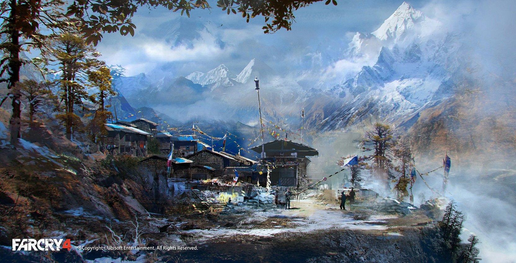 Far Cry 4 Concept Art by Donglu Yu