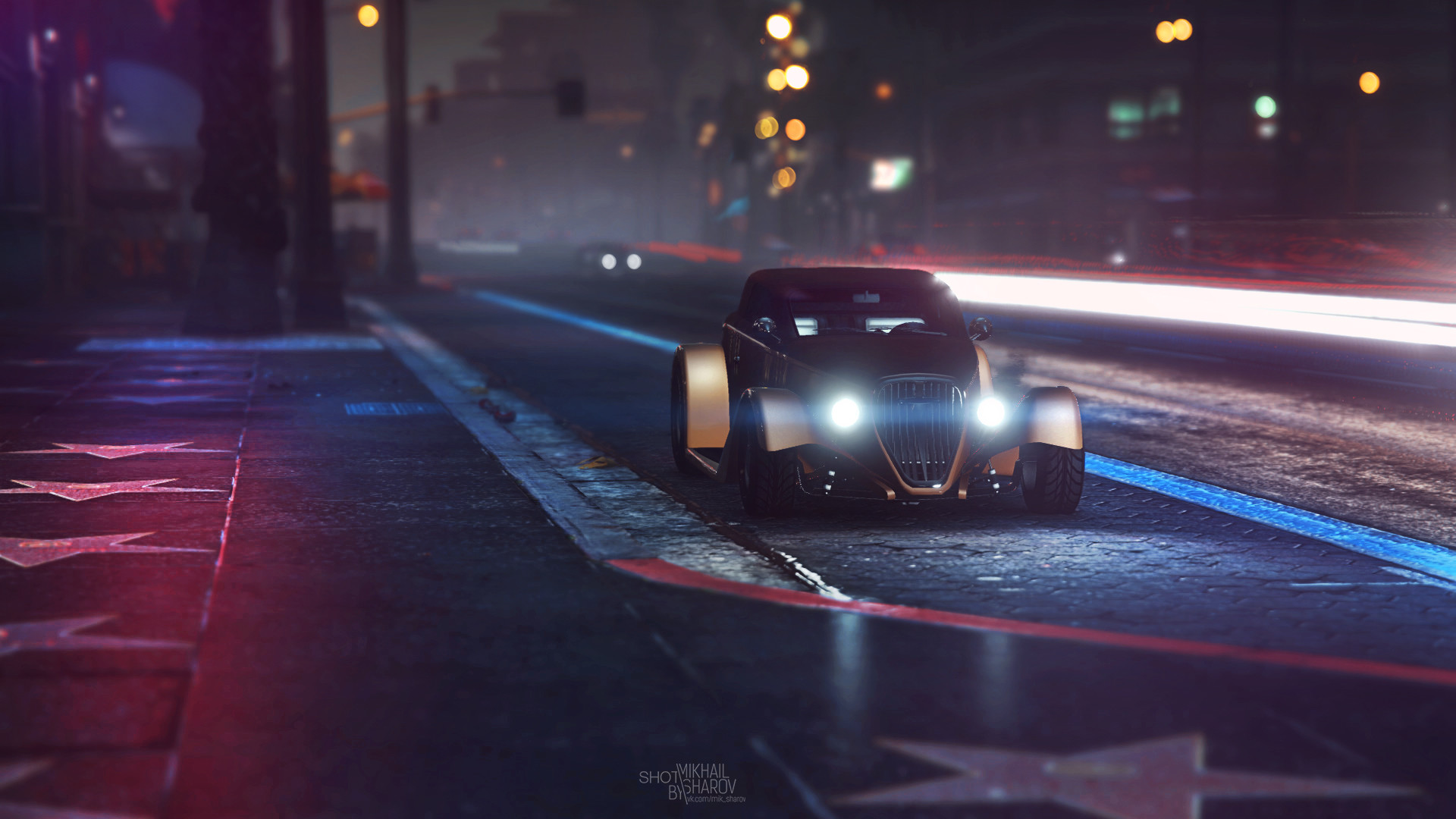 GTA Game Photography by Mikhail Sharov