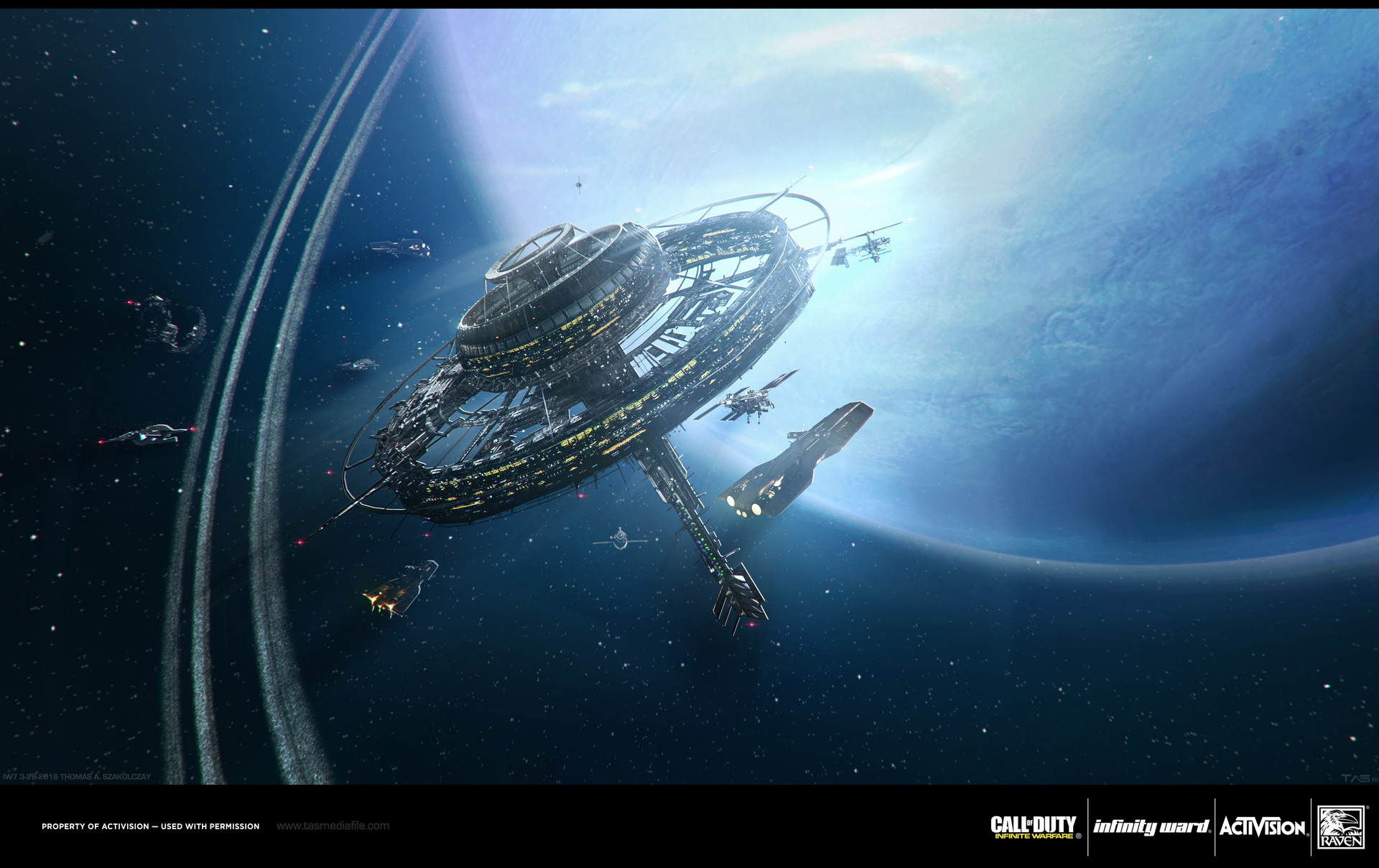 Call of Duty Infinite Warfare Concept Art