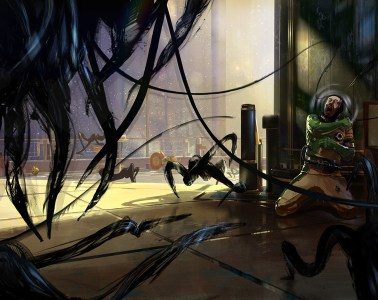 Prey Concept Art by Dmitry Sorokin