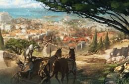 Assassin's Creed Origins Concept Art by Eddie Bennun