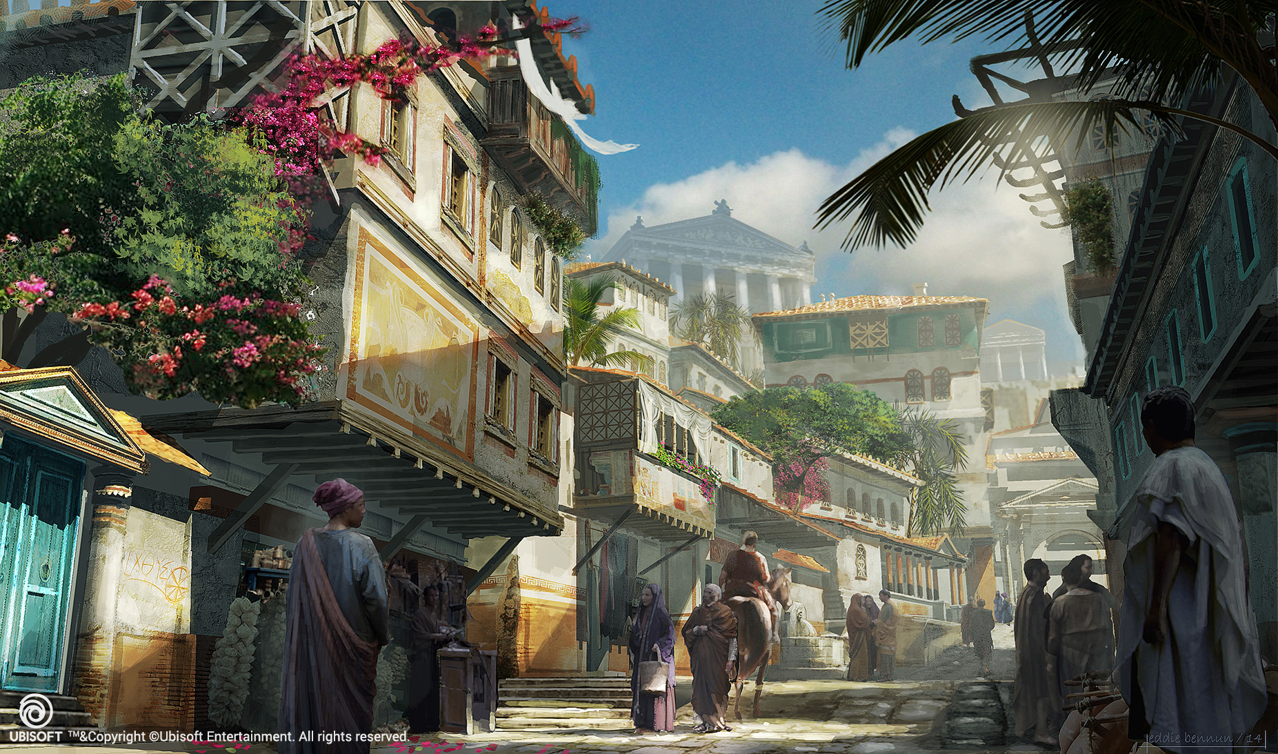 assassins creed origins bayek concept art
