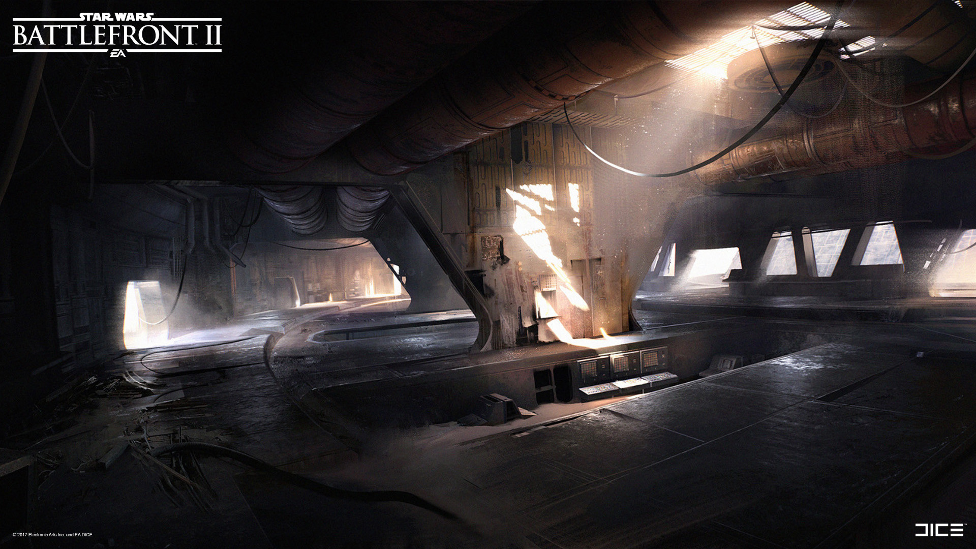 Star Wars Battlefront 2 Concept Art by Esbjörn Nord