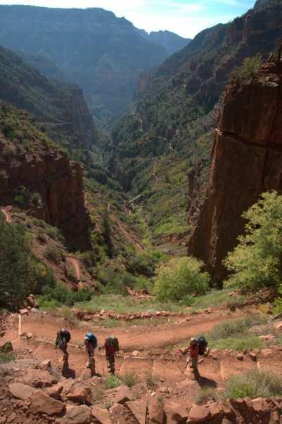 Supai Tunnel grand canyon rim to rim