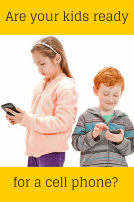cell phones and kids