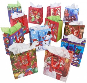 Recyclable and Reusable Gift Wrap