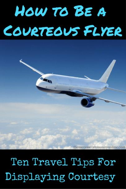 courteous flyer traveler