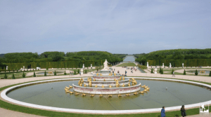 Versailles Gardens Palace France