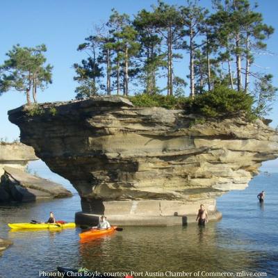 Kayaking the Great Lakes