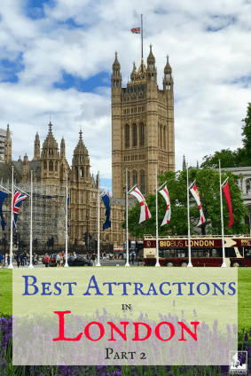London, things to do, attractions