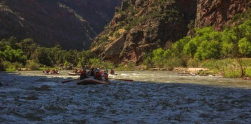 Rafting Dinosaur National Monument