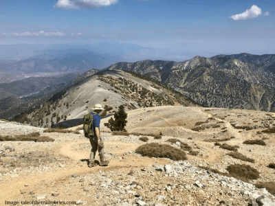 los angeles hiking mount baldy