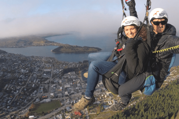Queenstown activities things to do paragliding