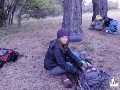 Safe camping trip